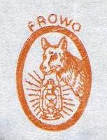 Logo Hund mit Laterne 1938