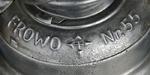 Frowo 55 - frühe Nachkriegsmarkung
