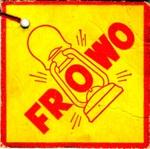 Frowo Laternenanhänger Nachkriegszeit Rückseite